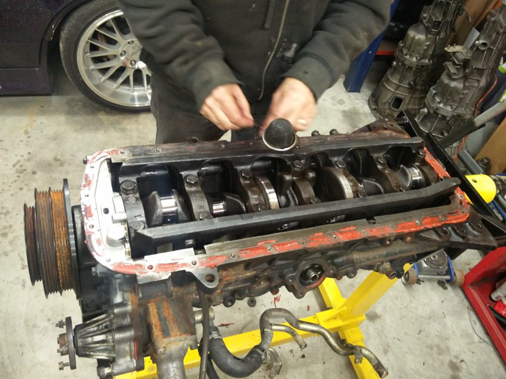 RB25 Teardown