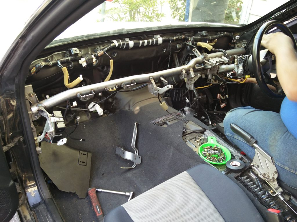 R34 stripping interior